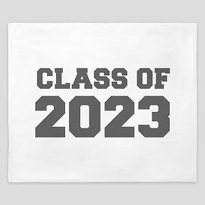 CLASS OF 2023-Fre gray 300 King Duvet
