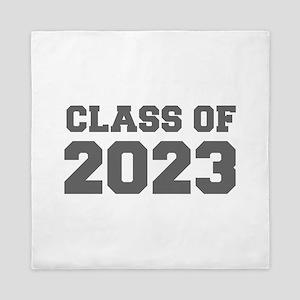 CLASS OF 2023-Fre gray 300 Queen Duvet