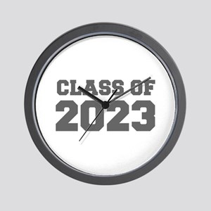 CLASS OF 2023-Fre gray 300 Wall Clock