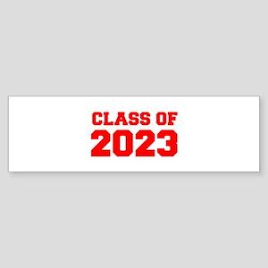 CLASS OF 2023-Fre red 300 Bumper Sticker
