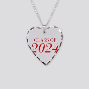 CLASS OF 2024-Bau red 501 Necklace