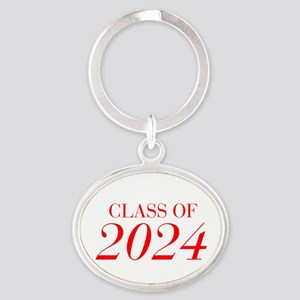 CLASS OF 2024-Bau red 501 Keychains