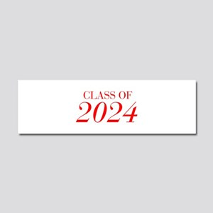 CLASS OF 2024-Bau red 501 Car Magnet 10 x 3