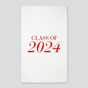 CLASS OF 2024-Bau red 501 Area Rug