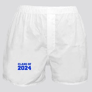 CLASS OF 2024-Fre blue 300 Boxer Shorts