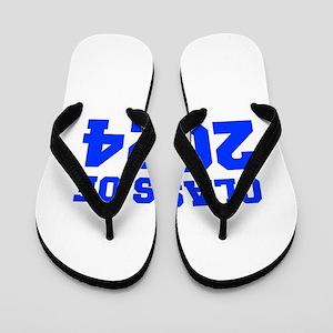 CLASS OF 2024-Fre blue 300 Flip Flops