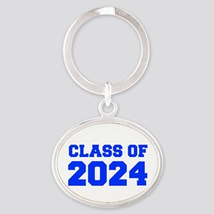 CLASS OF 2024-Fre blue 300 Keychains