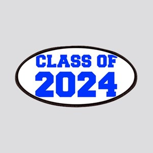 CLASS OF 2024-Fre blue 300 Patch