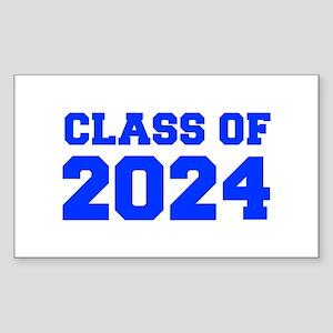 CLASS OF 2024-Fre blue 300 Sticker