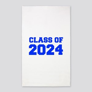 CLASS OF 2024-Fre blue 300 Area Rug