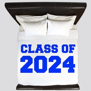 CLASS OF 2024-Fre blue 300 King Duvet