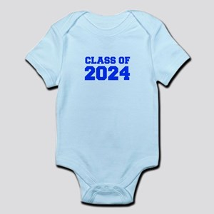 CLASS OF 2024-Fre blue 300 Body Suit