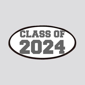CLASS OF 2024-Fre gray 300 Patch