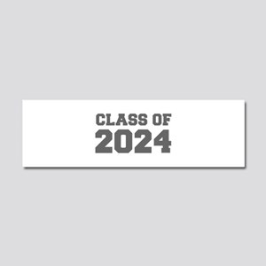 CLASS OF 2024-Fre gray 300 Car Magnet 10 x 3