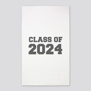CLASS OF 2024-Fre gray 300 Area Rug