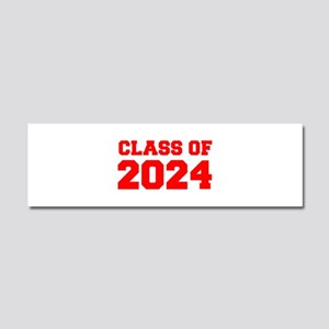 CLASS OF 2024-Fre red 300 Car Magnet 10 x 3