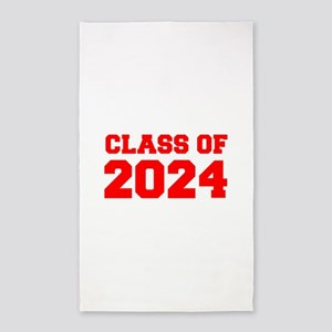 CLASS OF 2024-Fre red 300 Area Rug