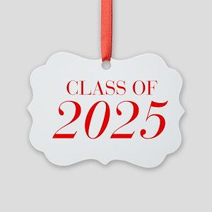 CLASS OF 2025-Bau red 501 Ornament