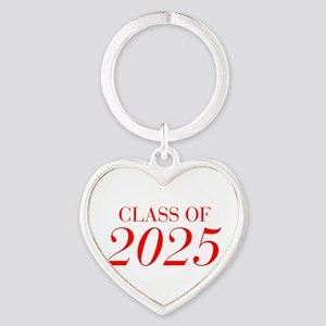 CLASS OF 2025-Bau red 501 Keychains