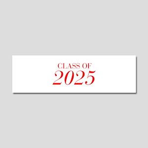 CLASS OF 2025-Bau red 501 Car Magnet 10 x 3