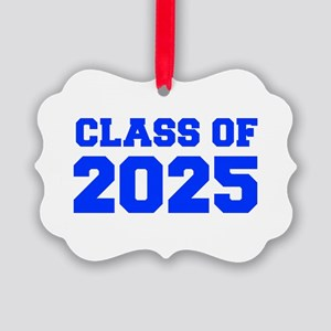 CLASS OF 2025-Fre blue 300 Ornament