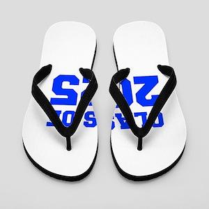 CLASS OF 2025-Fre blue 300 Flip Flops