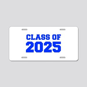 CLASS OF 2025-Fre blue 300 Aluminum License Plate