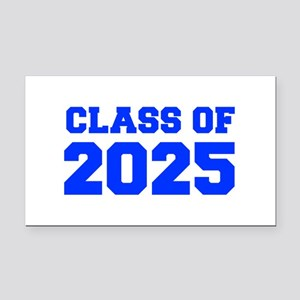 CLASS OF 2025-Fre blue 300 Rectangle Car Magnet