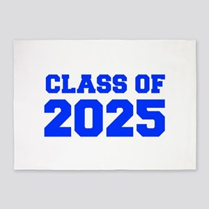 CLASS OF 2025-Fre blue 300 5'x7'Area Rug