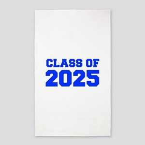 CLASS OF 2025-Fre blue 300 Area Rug