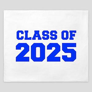 CLASS OF 2025-Fre blue 300 King Duvet