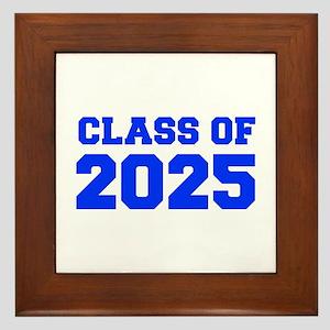 CLASS OF 2025-Fre blue 300 Framed Tile