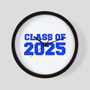 CLASS OF 2025-Fre blue 300 Wall Clock