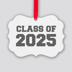 CLASS OF 2025-Fre gray 300 Ornament