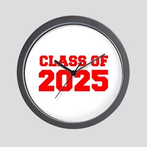 CLASS OF 2025-Fre red 300 Wall Clock