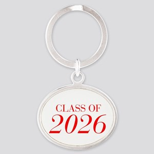 CLASS OF 2026-Bau red 501 Keychains