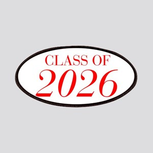 CLASS OF 2026-Bau red 501 Patch