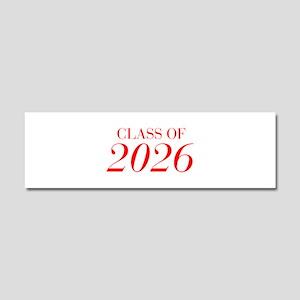 CLASS OF 2026-Bau red 501 Car Magnet 10 x 3