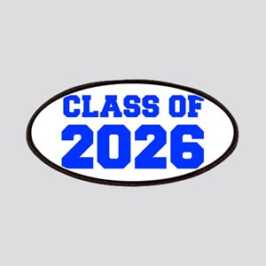 CLASS OF 2026-Fre blue 300 Patch