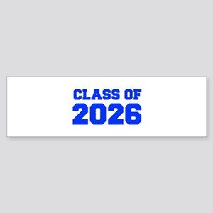 CLASS OF 2026-Fre blue 300 Bumper Sticker