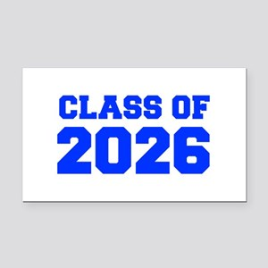 CLASS OF 2026-Fre blue 300 Rectangle Car Magnet