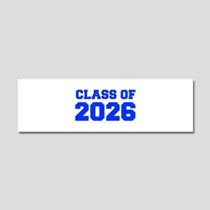CLASS OF 2026-Fre blue 300 Car Magnet 10 x 3