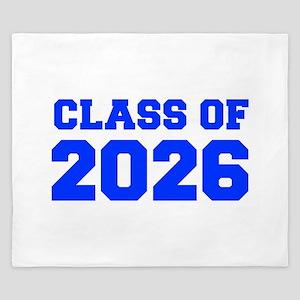CLASS OF 2026-Fre blue 300 King Duvet