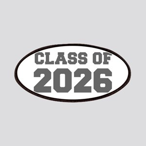 CLASS OF 2026-Fre gray 300 Patch