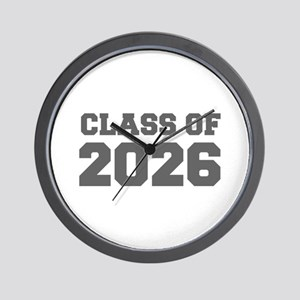 CLASS OF 2026-Fre gray 300 Wall Clock