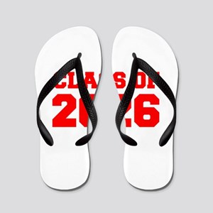 CLASS OF 2026-Fre red 300 Flip Flops