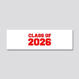 CLASS OF 2026-Fre red 300 Car Magnet 10 x 3