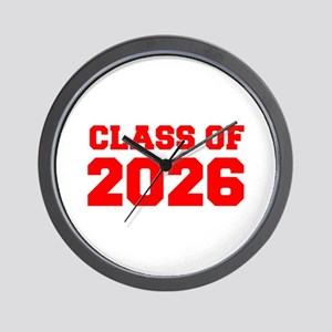 CLASS OF 2026-Fre red 300 Wall Clock