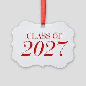 CLASS OF 2027-Bau red 501 Ornament