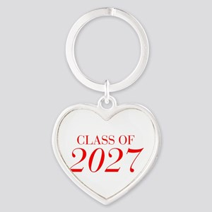 CLASS OF 2027-Bau red 501 Keychains